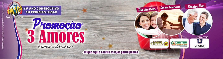 Promoção 3 Amores 2018