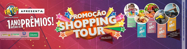 Promoção Shopping Tour 2019/2020